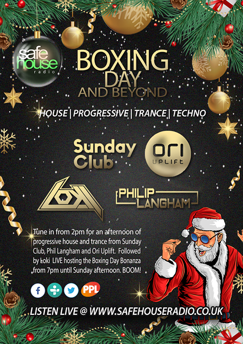 boxing Day bonanza 2020 full poster 500px
